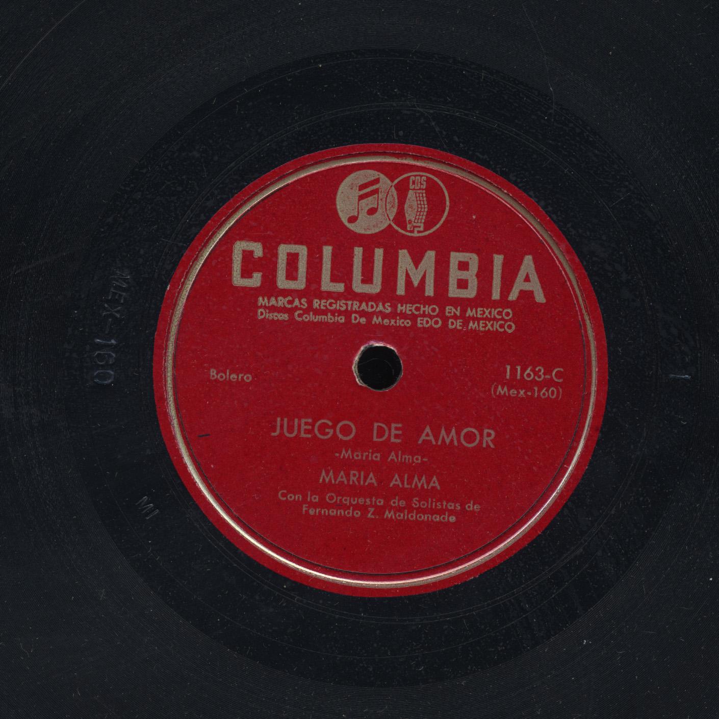 Juego De Amor - Maria Alma Con La Orquesta De Solistas de Fernando Z.  Maldonado   Frontera Project