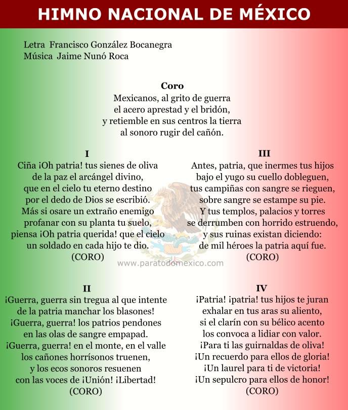 Himno Nacional Mexicano: The Long And Winding History Of